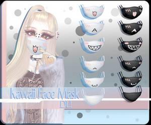 Kawaii Face Mask DL! - MMD Download