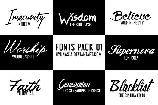 Fonts Pack 02