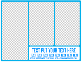 PNG Pack Template 02 by hyunasia
