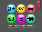 Glossy Editable Button V1.0