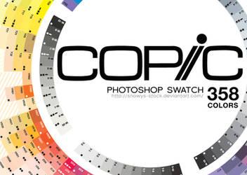 Copic Swatches (Photoshp)