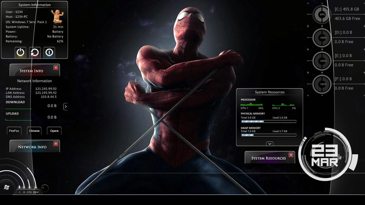 Spider Man Turn Off The Dark Tour