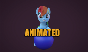 [Blender Animation] RD and her ball