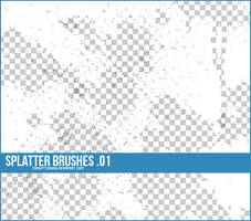 Splatter Brushes by findyourheart