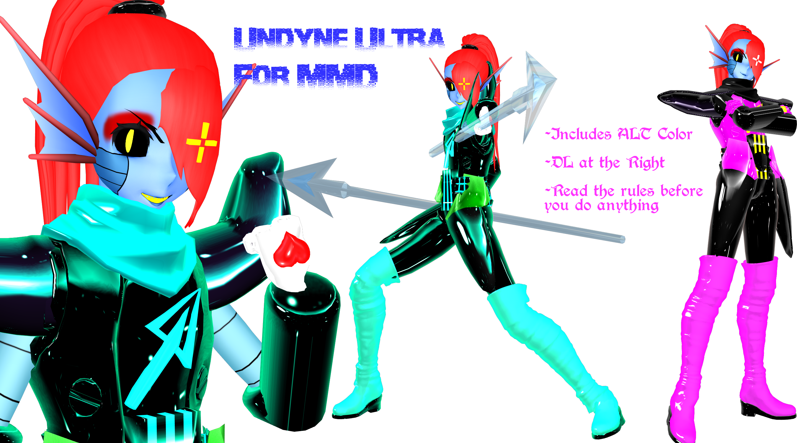 Undyne Ultra DL by DrStinger