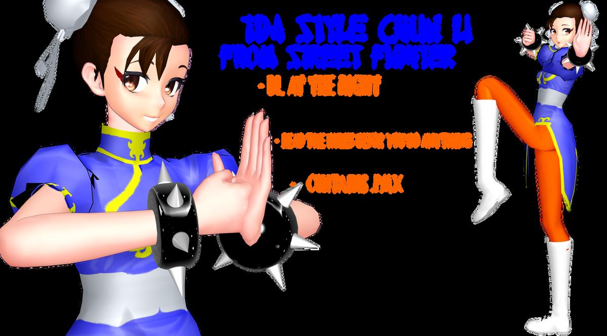 TDA Style Chun Li DL by DrStinger