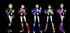 Dr. Eggman's Gender bent E-Series Pack DL (Sonic)