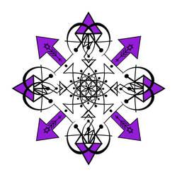 Flower Of Xaos -- Opintruder version by ArtOfIllumination