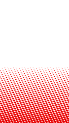 Red Dots Halftone Pattern