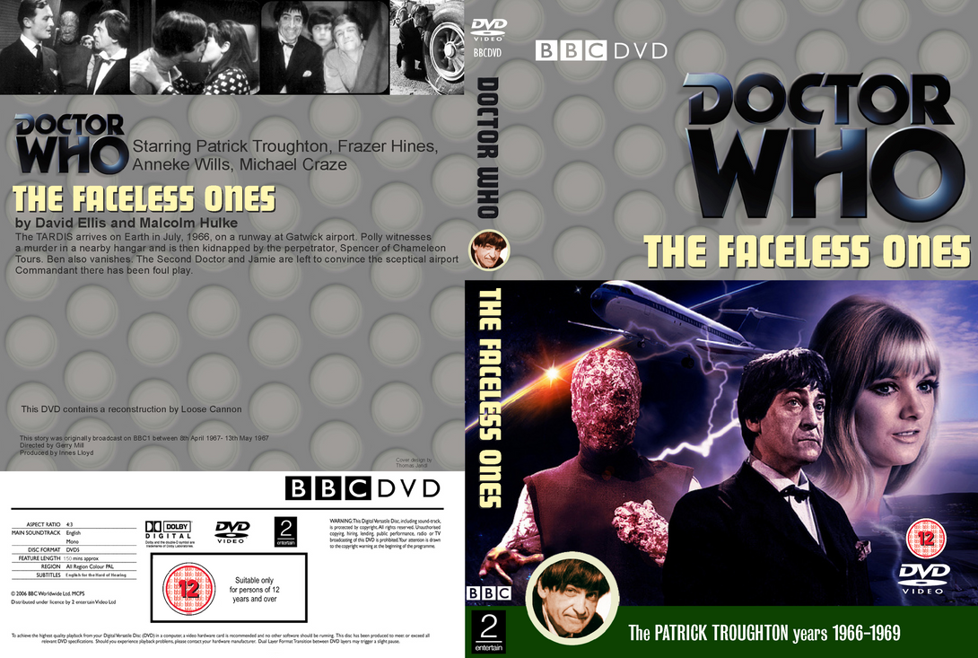 Doctor Who The Faceless Ones Dvd Cover By Wario64i On Deviantart