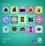 15 Free Icons Sets