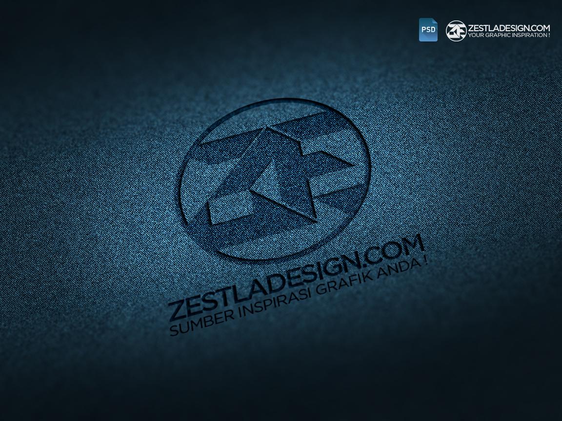 Logo Mockups Denim Textures (FREEBIES) by zestladesign