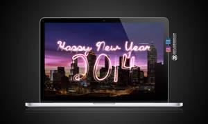 Happy New Year 2014 Wallpaper (2560X1600px)