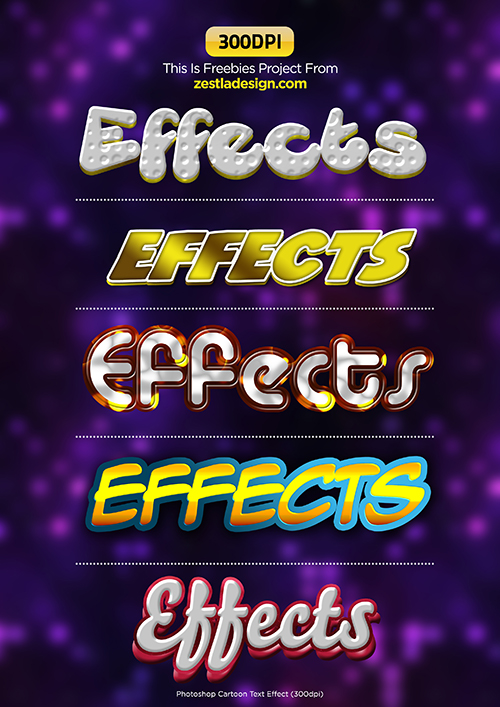 how to make cartoon effect in photoshop cs6