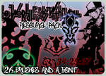 SKS-TWEWY Brush and Font Pack