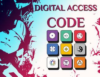 My digital access code by AquaSixio