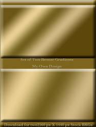 Bronze Gradient WP + Stock by TheStockWarehouse