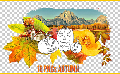 Autumn PNGs by Katy1990
