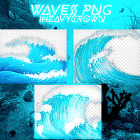 Waves Png by iHeavyCrown