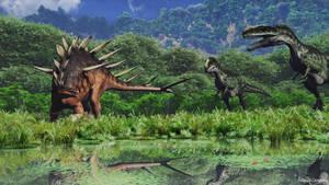 Kentrosaurus encounter