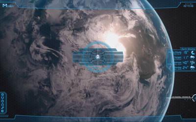 Mass Effect Rainmeter Skin - Blue