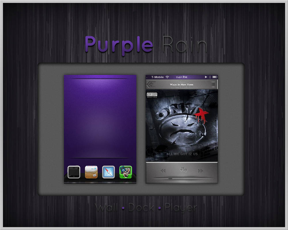 Purple Rain by turnpaper