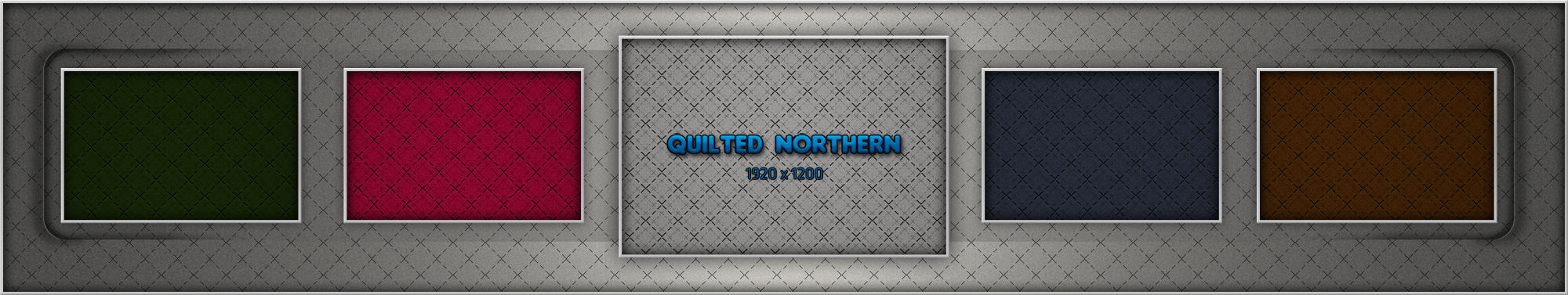 Quilted Northern by turnpaper