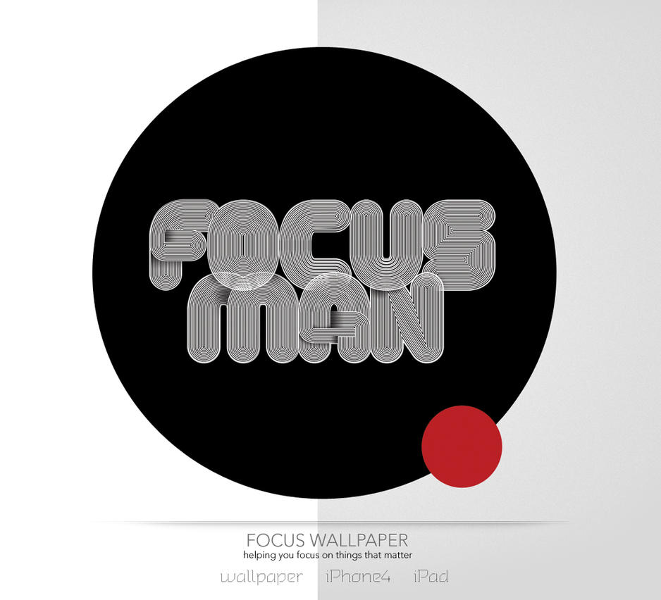 Focus Wall by turnpaper