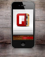Flipboard icon for iPhone