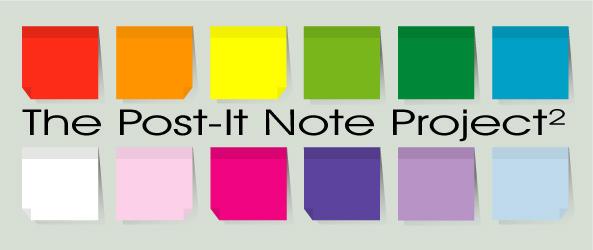 The Post-It Note Project 2 by ChewedKandi