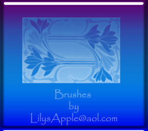 Art Nouveau  Brushes by LilysApple