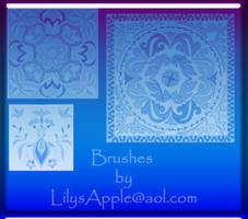 21 PS brushes Chinese Kazak by LilysApple