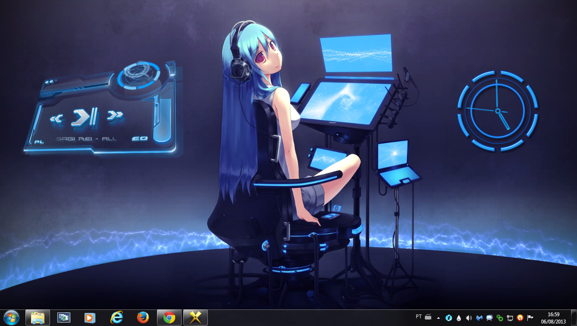 Girl Sounds 2 Rogers1967 Rainmeter by Rogers1967