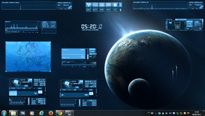Planet Earth 2 Rogers1967 Rainmeter