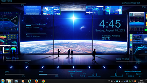 Space Control Rogers1967 Rainmeter