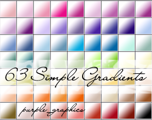PS Gradients - Simple White