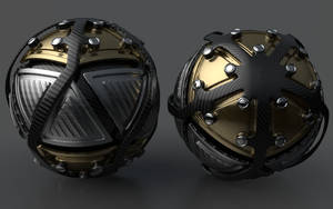 Armoured Ball XXXIX by Dracu-Teufel666
