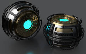 Armoured Ball XL by Dracu-Teufel666