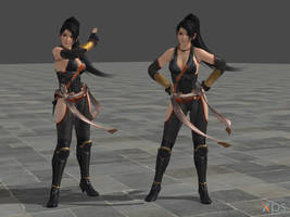 DOA5 Momiji Costume 03 Battlesuit 3 by rolance