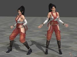 DOA5 Momiji Costume 01 Battlesuit 1 by rolance