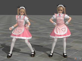 DOA5 Marie Rose Costume 14 Maid by rolance