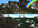 DOA5 Stage Lost World