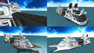 DOA5 Stage Cruise Liner
