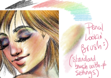 Pencil Looking Brush by palnk