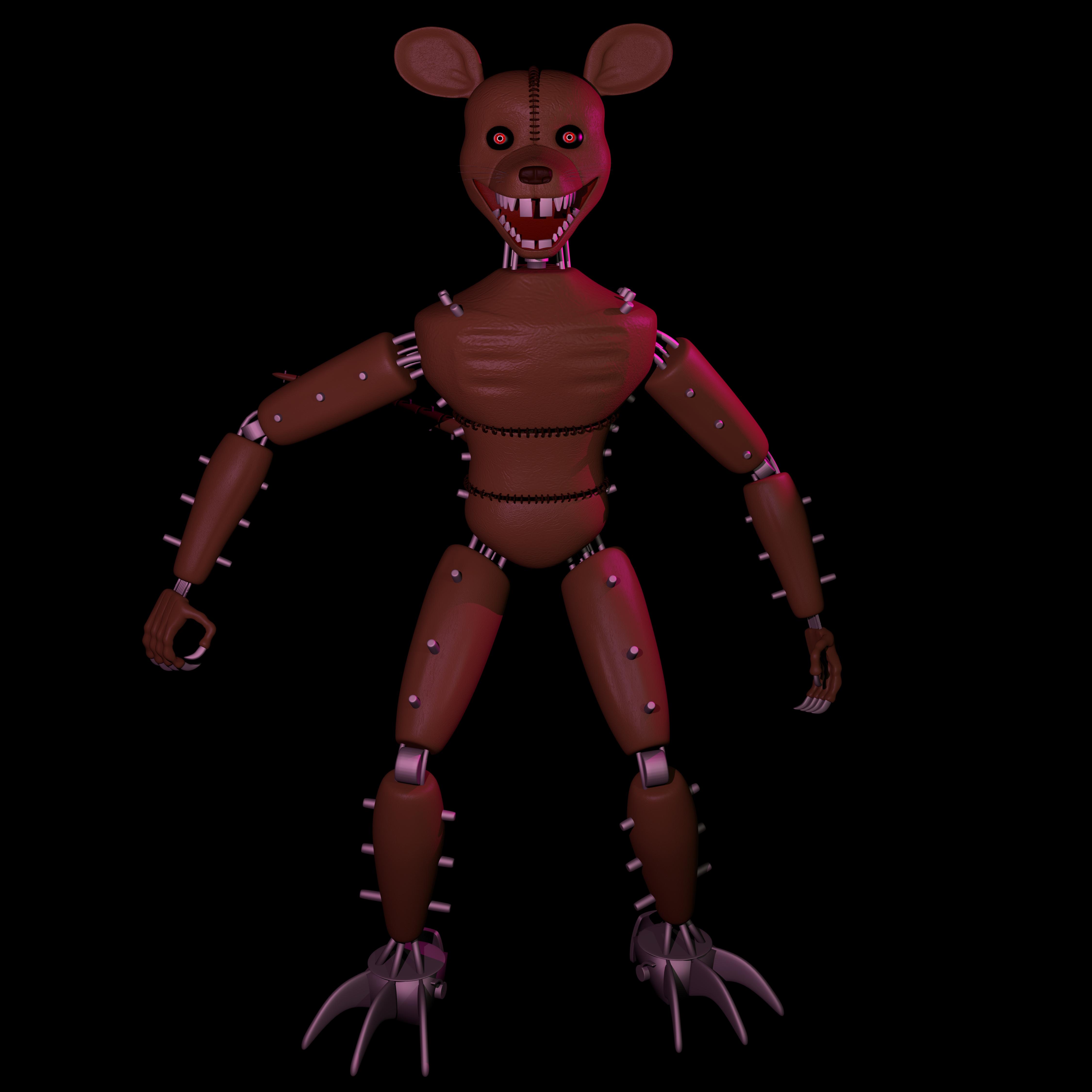 Monster Rat Fnac 3(blender Oficial Release) By Crepet9000