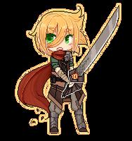 Aurus the Autumn Warrior by witchuru