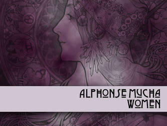 Alphonse Mucha Women by remittancegirl