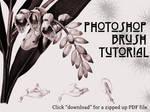 Basic Photoshop Brush Tutorial