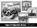 Cigar and Cigarette Boxes Vol1