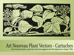 Vector Nouveau Plants - Dark